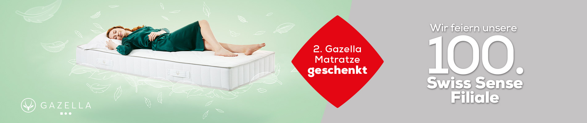 Winter Sale Matratzen  banner | Swiss Sense