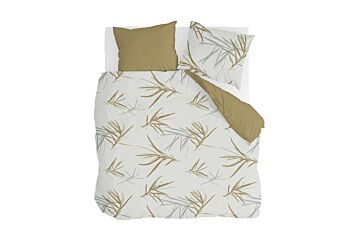 Walra Remade Bambus Grasses Bettwäsche Honey Mustard