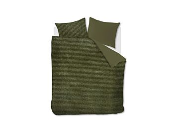 At Home by Beddinghouse Cosy Corduroy Bettwäsche Green
