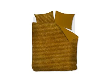 At Home by Beddinghouse Cosy Corduroy Bettwäsche Ochre