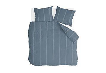 Walra Remade Cotton Blend Bettwäsche Blue
