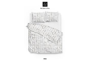 Zo!Home Alois Bettwäsche White/Grey