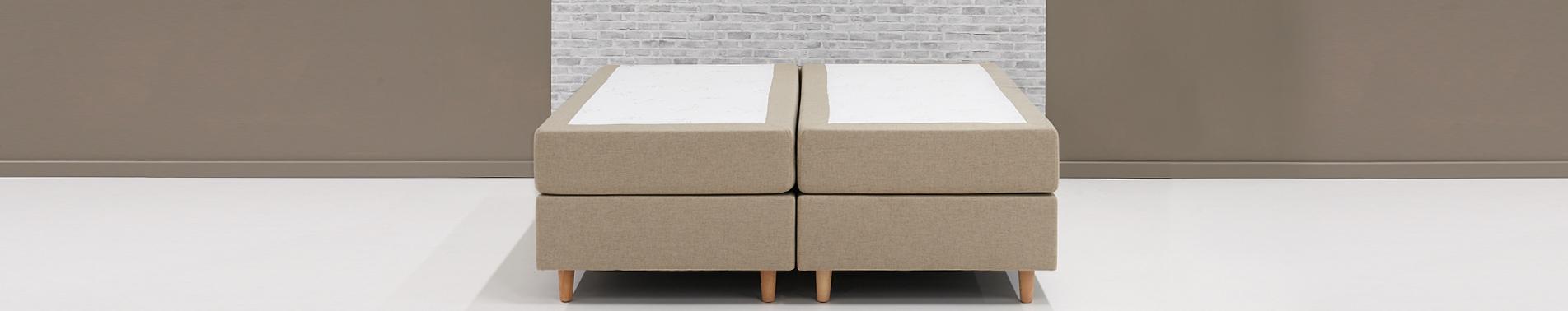 boxspringbett ohne kopfteil kaufen swiss sense. Black Bedroom Furniture Sets. Home Design Ideas
