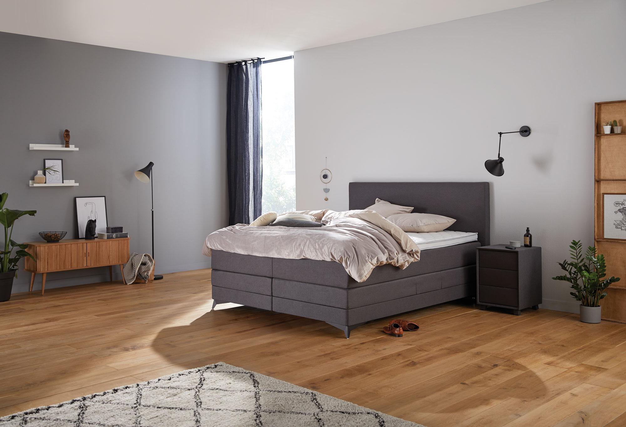 Boxspringbett Home 450n - Sofort lieferbar  Swiss Sense