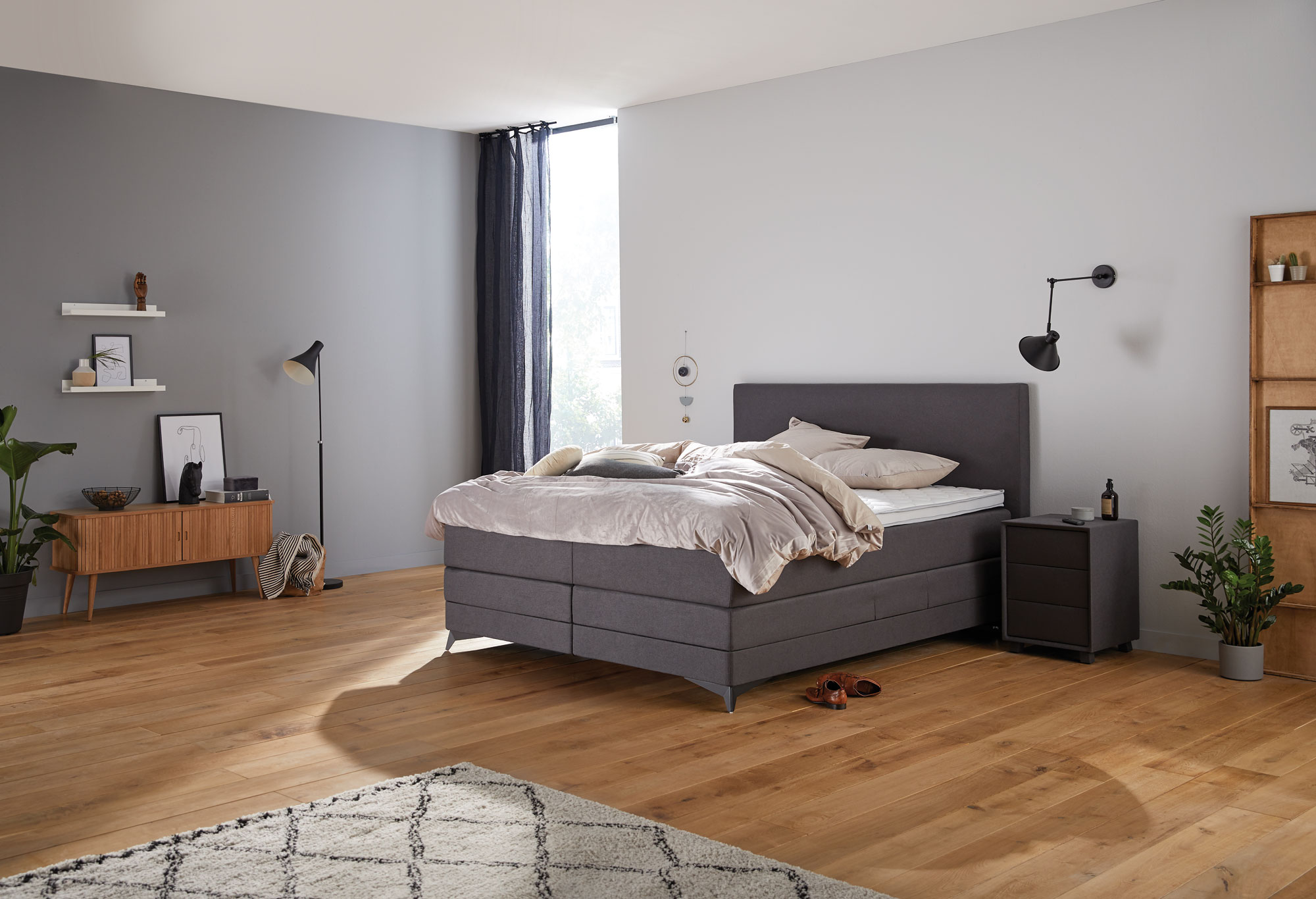 Boxspringbett Home 405n - schnell lieferbar | Swiss Sense