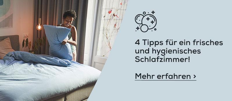 4 Tipps für ein frisches und hygienisches Schlafzimmer | Swiss Sense