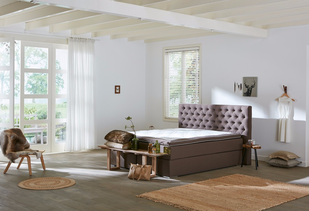 boxspringbett capella estolitto swiss sense. Black Bedroom Furniture Sets. Home Design Ideas