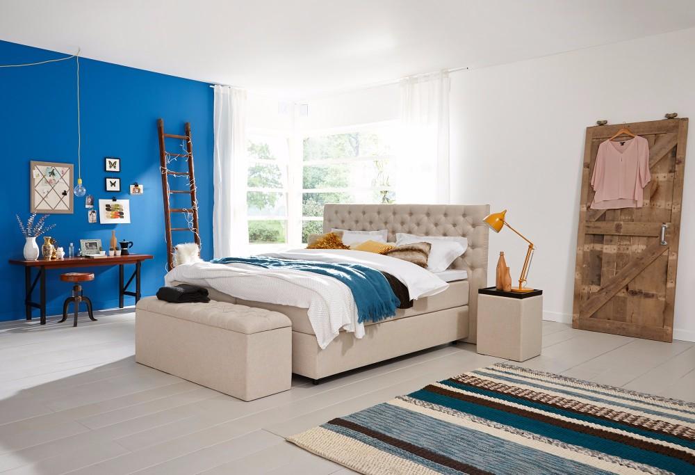 boxspringbett home 310 swiss sense. Black Bedroom Furniture Sets. Home Design Ideas