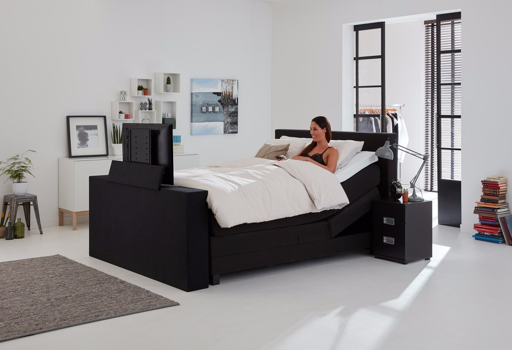 boxspringbett home 400 swiss sense. Black Bedroom Furniture Sets. Home Design Ideas
