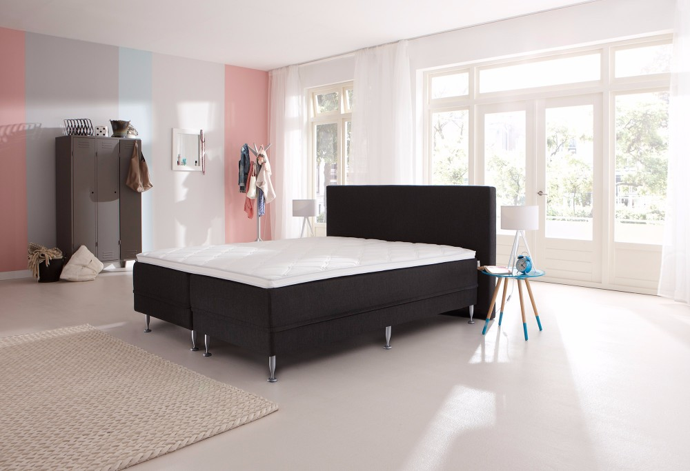 boxspringbett lifestyle 300 swiss sense. Black Bedroom Furniture Sets. Home Design Ideas