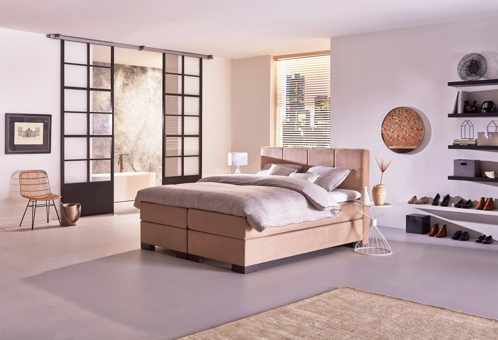 boxspringbett night hamburg swiss sense. Black Bedroom Furniture Sets. Home Design Ideas
