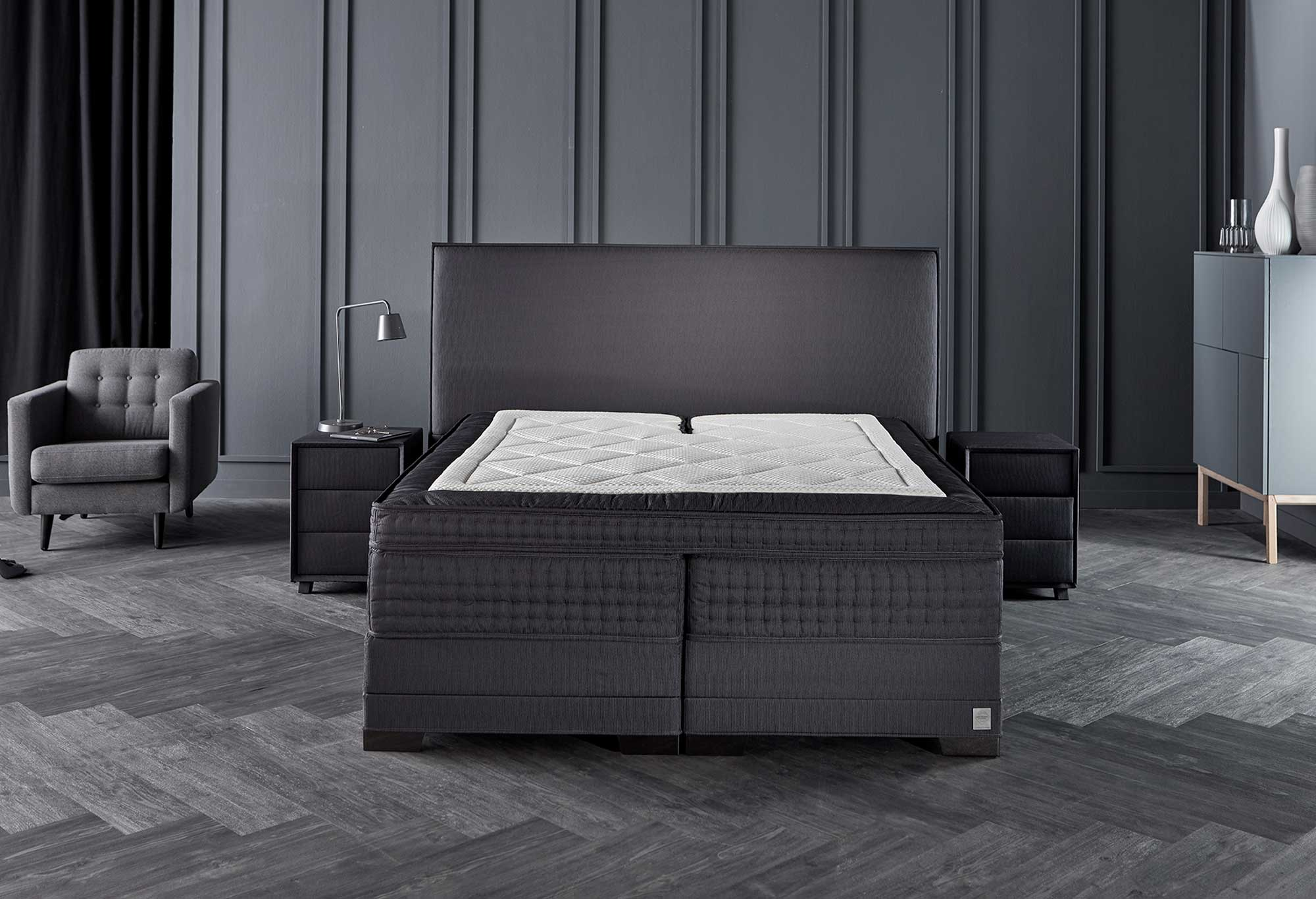 Boxspring Royal Humar | Matrassen | Swiss Sense
