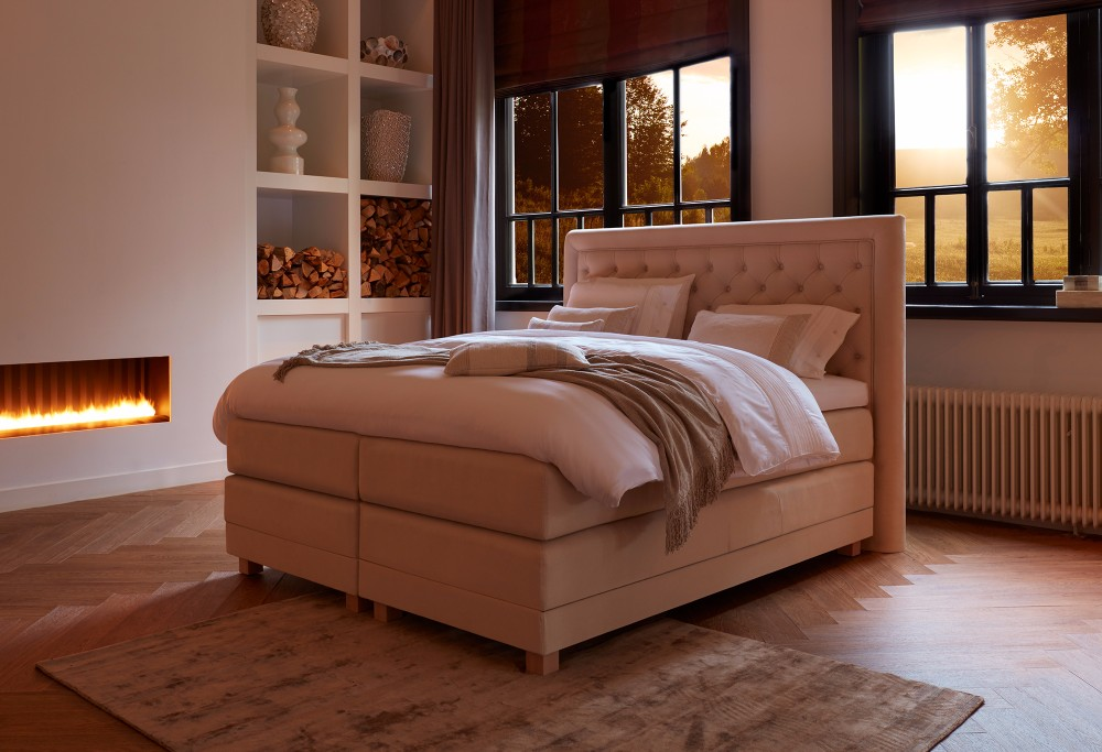 boxspringbett diks cellini swiss sense. Black Bedroom Furniture Sets. Home Design Ideas