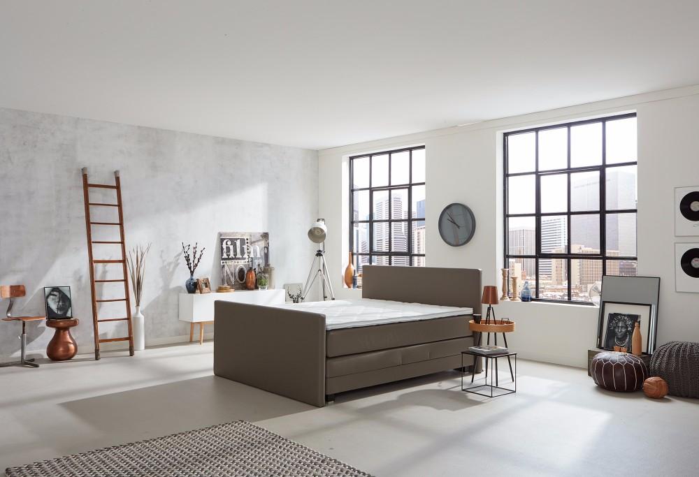 boxspringbett home 405v swiss sense. Black Bedroom Furniture Sets. Home Design Ideas