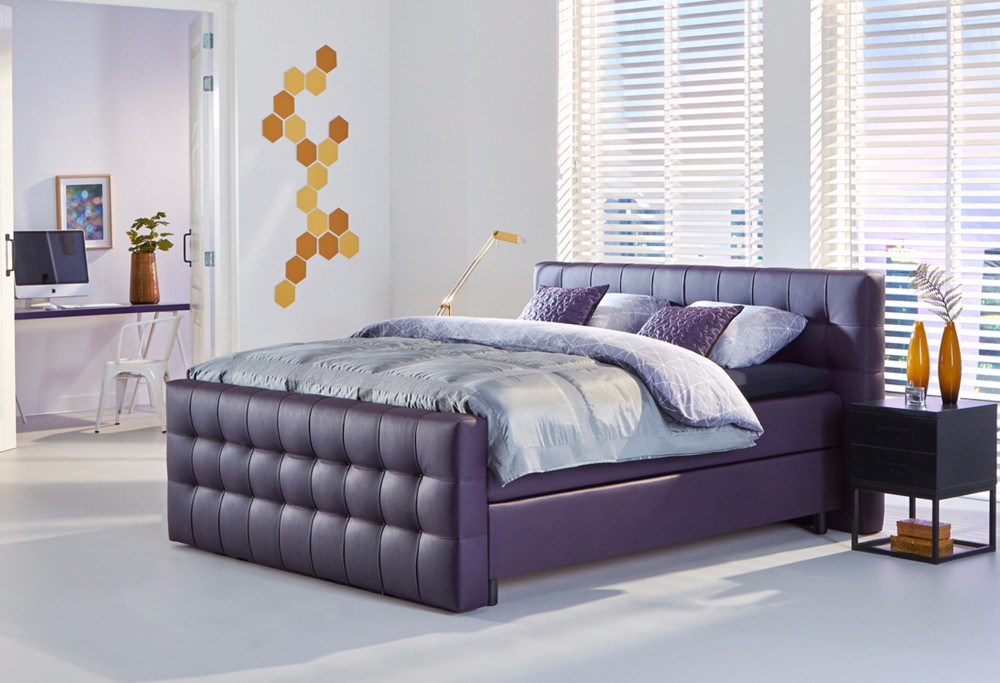 boxspringbett night sydney swiss sense. Black Bedroom Furniture Sets. Home Design Ideas