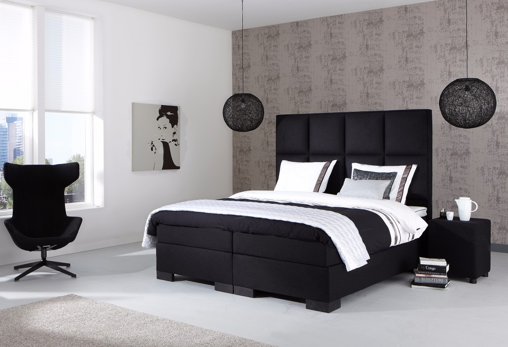boxspringbett night atlanta swiss sense. Black Bedroom Furniture Sets. Home Design Ideas