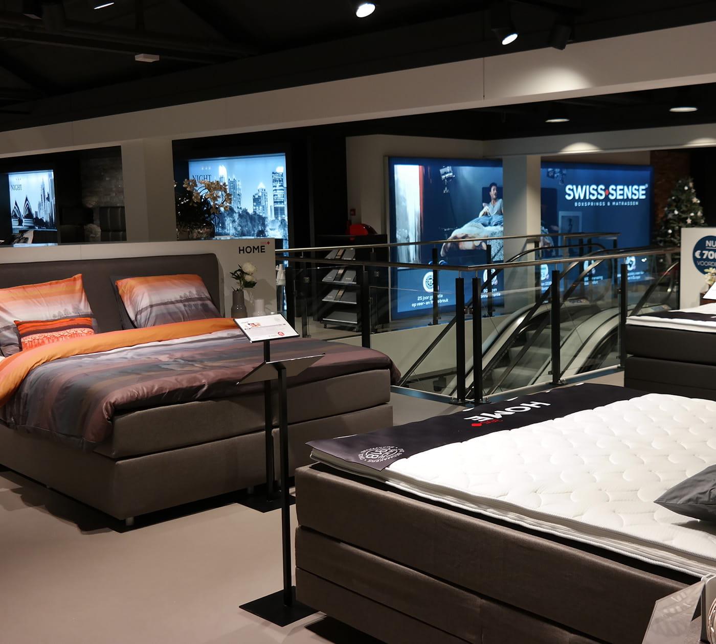boxspringbetten und matratzen in utrecht swiss sense. Black Bedroom Furniture Sets. Home Design Ideas