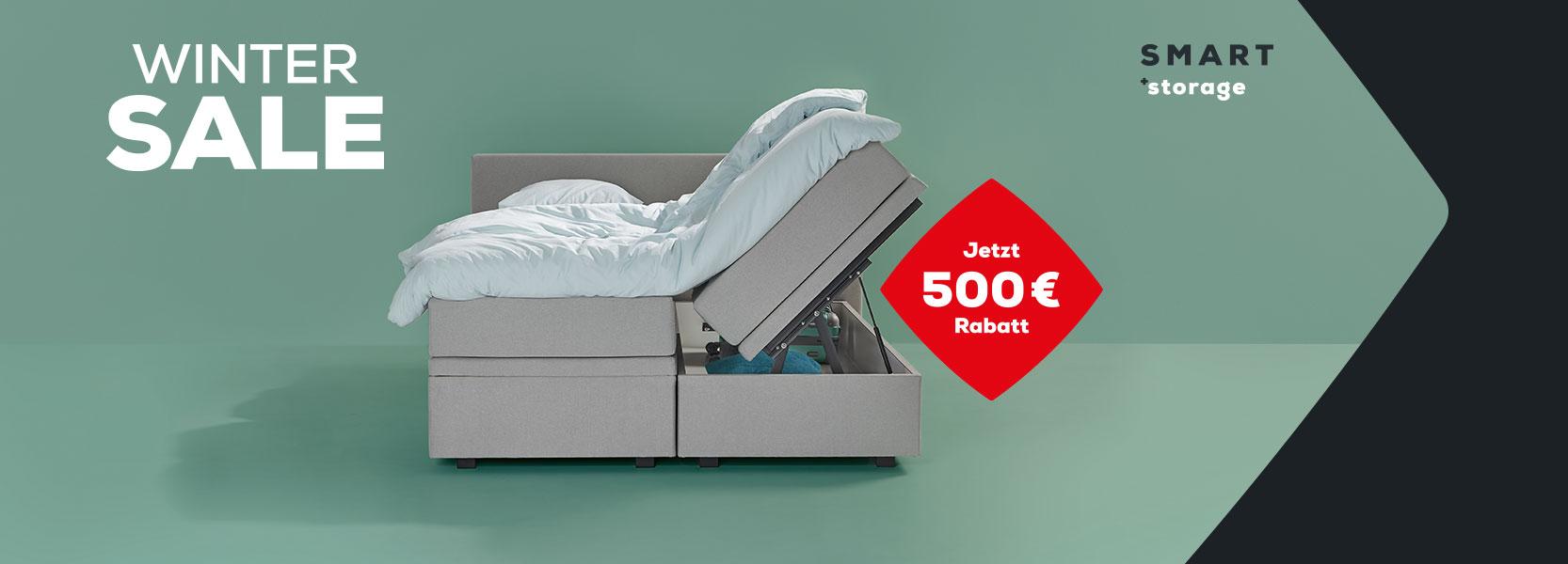 Boxspringbetten SMART Storage | Swiss Sense
