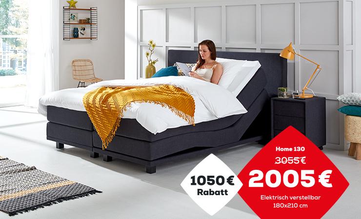 Boxspringbett Aktion Home 130 | Swiss Sense