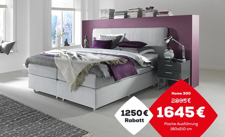 Boxspringbett Aktion Home 300 | Swiss Sense