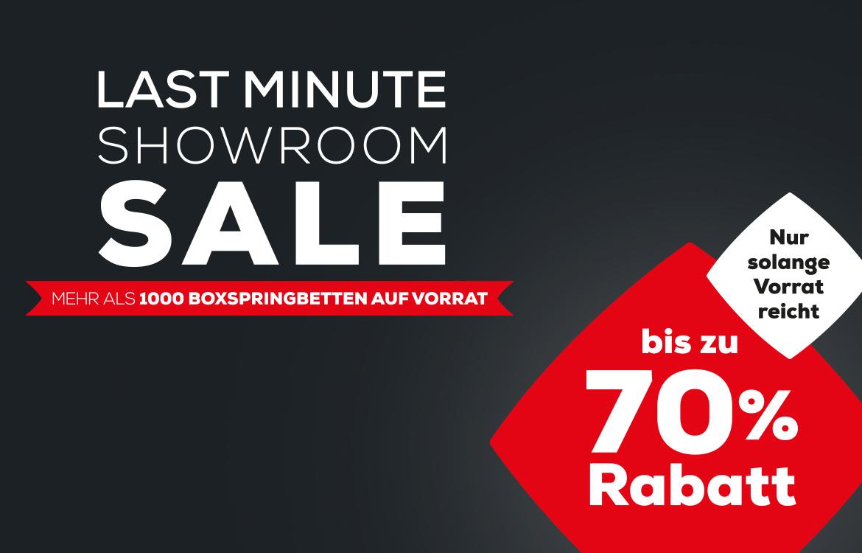 Last Minute Showroom Sale 2018| Swiss Sense