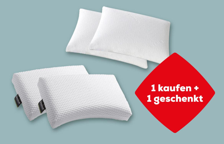 Kopfkissen 1 kaufen + 1 geschenkt | Swiss Sense