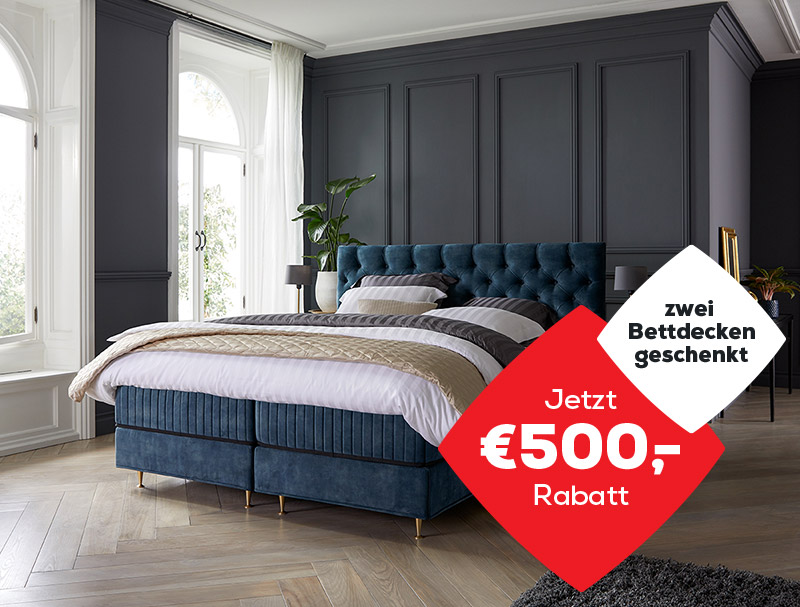 Boxspringbetten Royal Aktionen | Swiss Sense