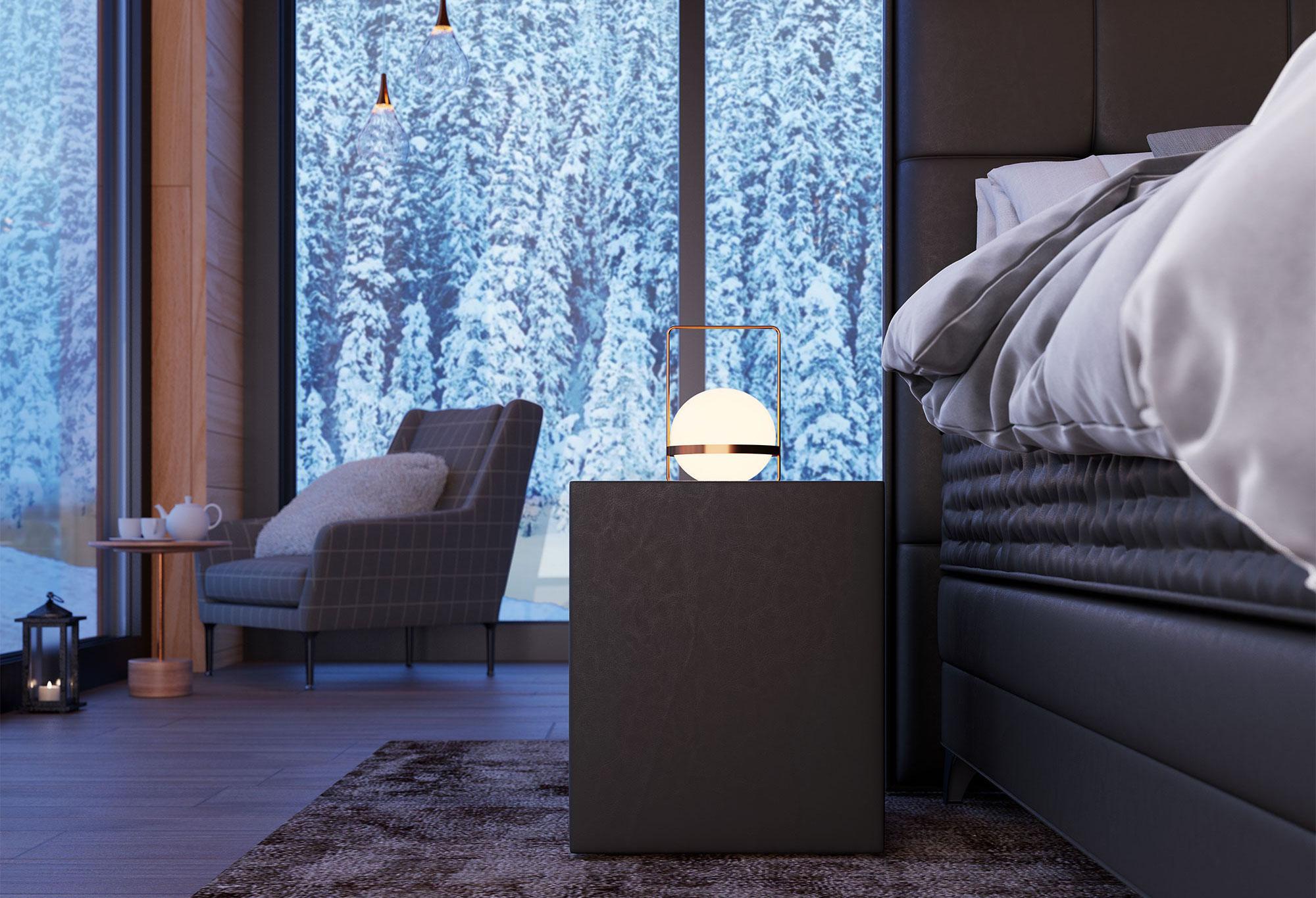Boxspring Royal Aurora|Nachttisch| Swiss Sense