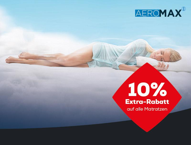 AEROMAX Matratzen Aktionen Black Friday   Swiss Sense