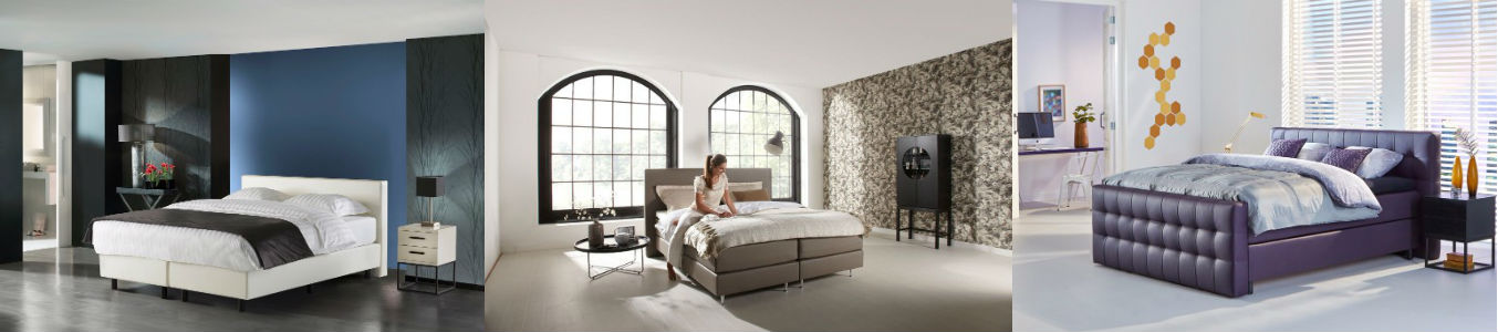 boxspringbett leder verschiedenen farben swiss sense. Black Bedroom Furniture Sets. Home Design Ideas