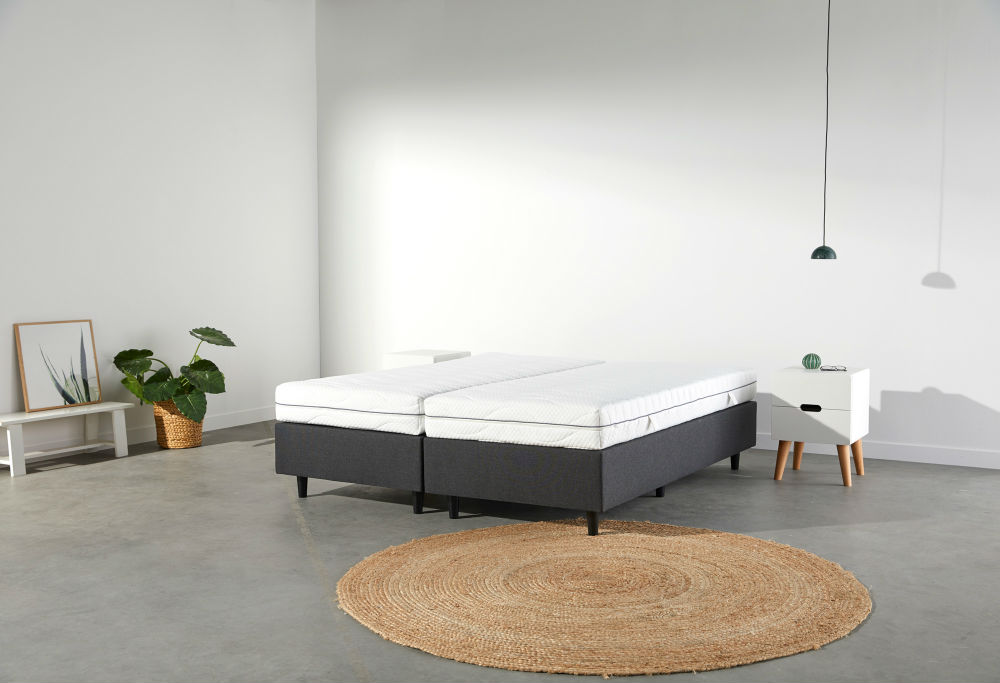 boxspringbett ohne kopfteil kaufen swiss sense. Black Bedroom Furniture Sets. Home Design Ideas