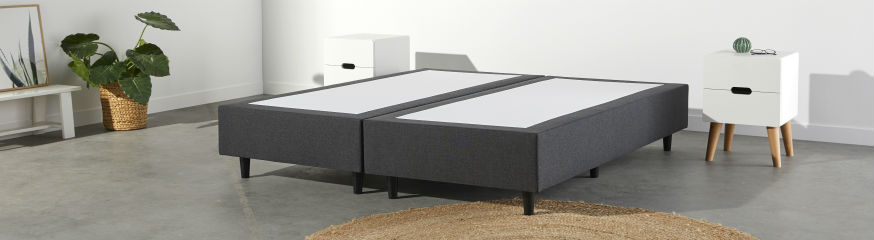 Boxspringbett ohne Matratze Image | Swiss Sense