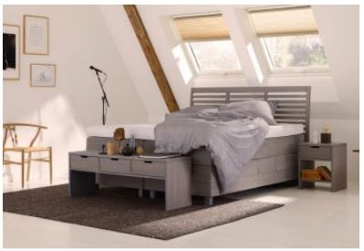 Polsterbett mit Holz - Capella Fuga