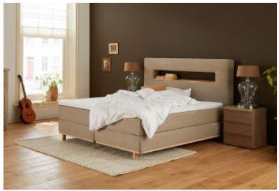 Polsterbett mit Holz -Capella Tremolo