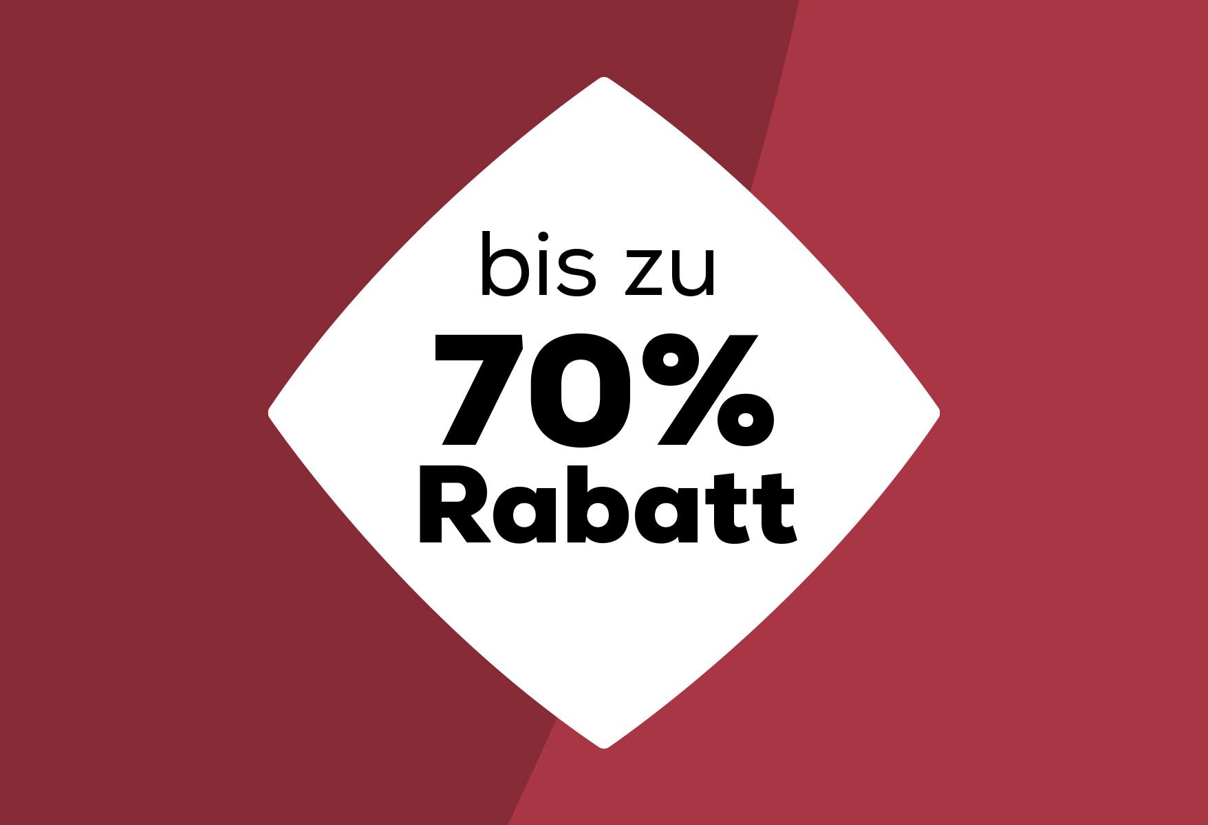 Bis zu 70% Rabatt | Swiss Sense