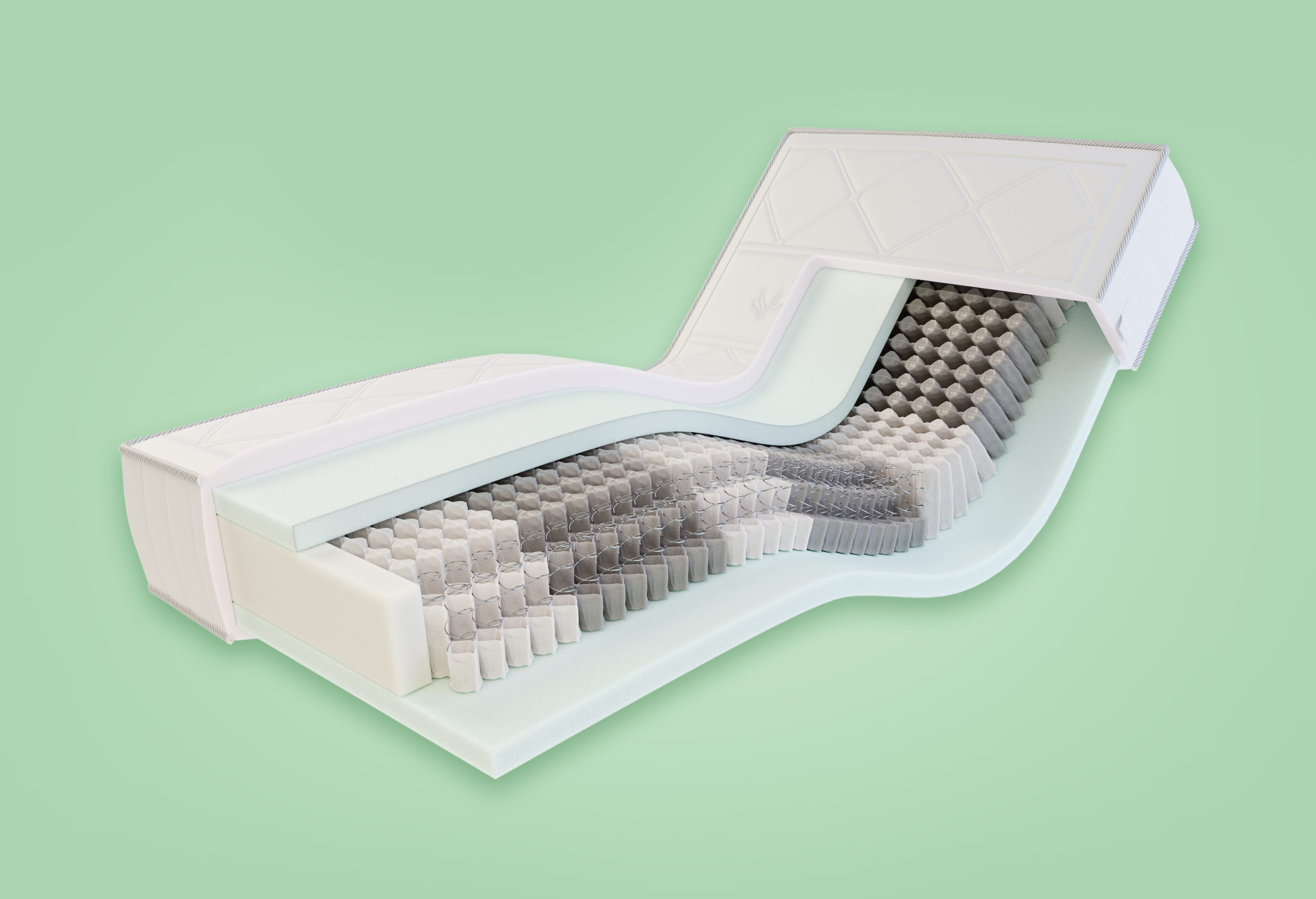 Gazella Comfort IV Tonnentaschen-Federkernmatratze   Swiss Sense