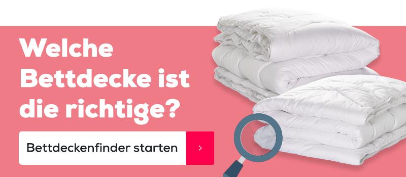 Bettdeckenfinder | Swiss Sense
