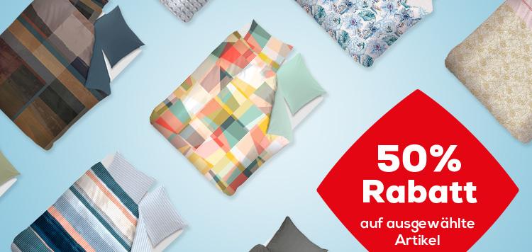 50% Rabatt Bettwäsche | Swiss Sense