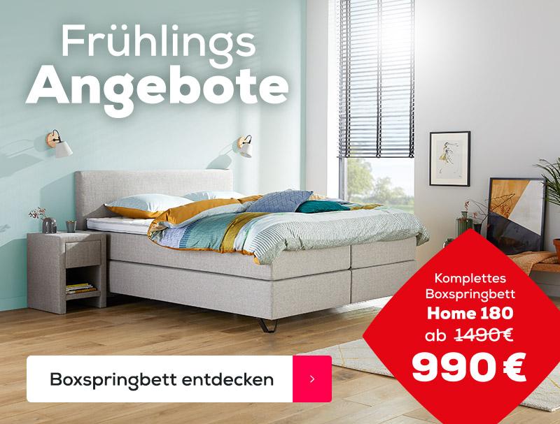Boxspringbett Home 180 Frühlings Angebote| Swiss Sense