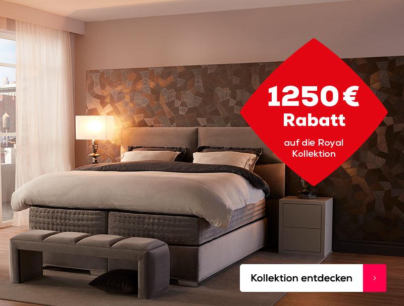 10% extra Rabatt auf die Royal Kollektion | Swiss Sense