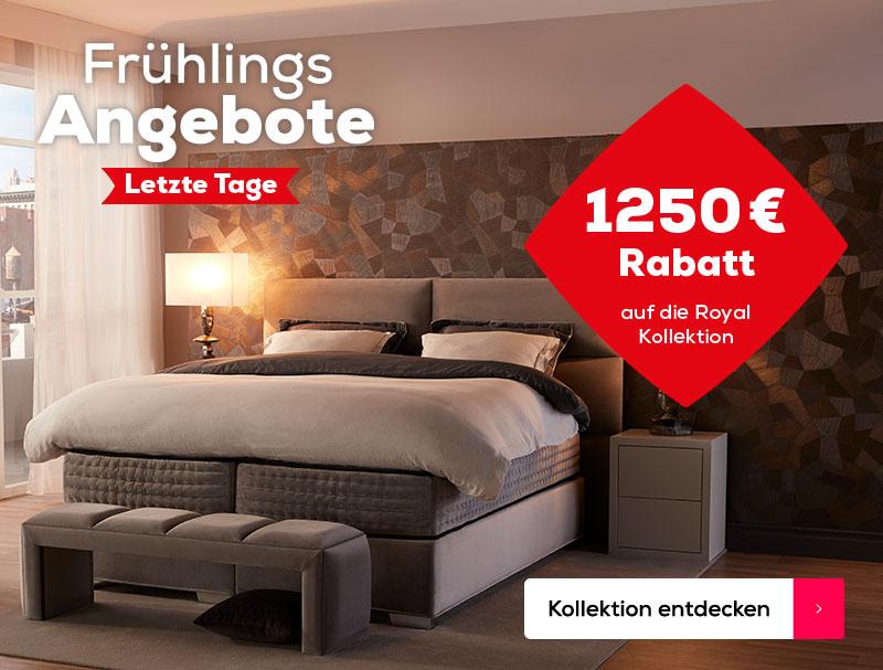 Letzte Tage 1250 € Rabatt auf die Royal Kollektion| Swiss Sense