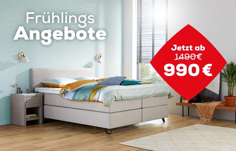 Home 180 Boxspringbett Frühlings Angebote | Swiss Sense