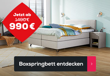 Boxspringbett Home 180   Swiss Sense
