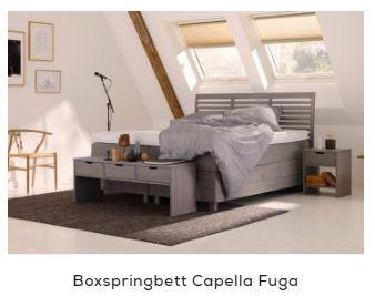 Boxspringbett Holz - Capella Fuga | Swiss Sense
