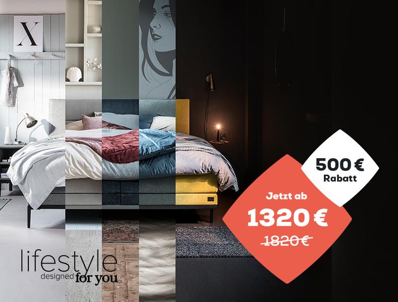 500 € Rabatt auf die Lifestyle Kollektion während des Late Summer Deals | Swiss Sense