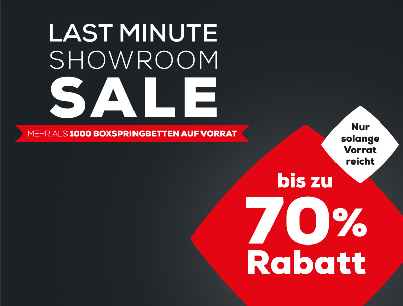 Last Minute Showroom Sale  | Swiss Sense