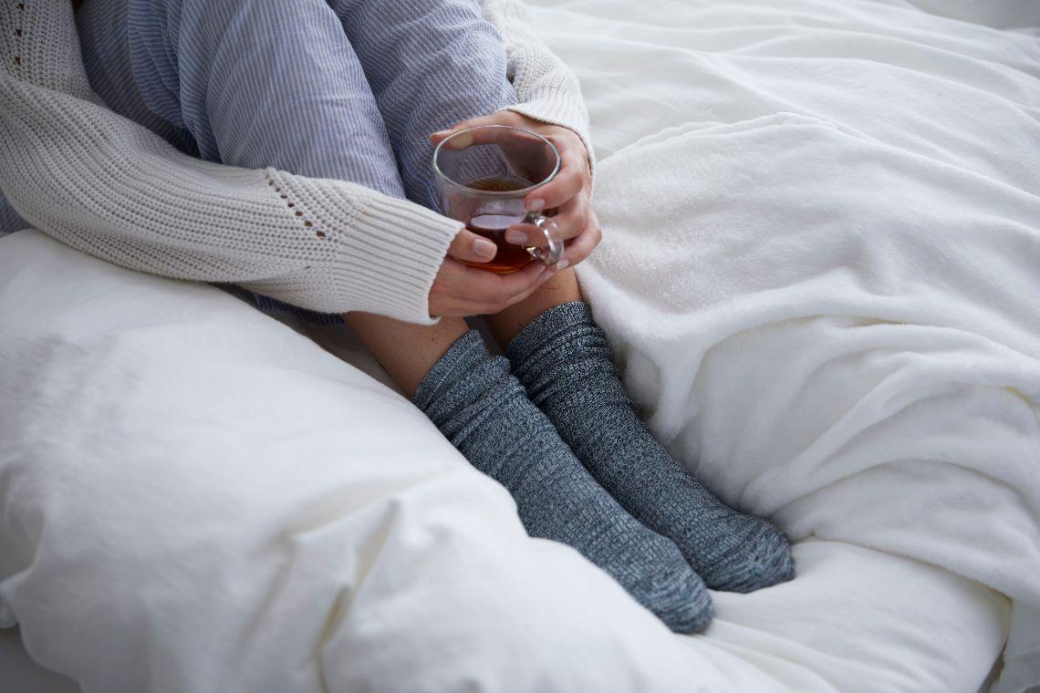 Bist du die Frostbeule oder die Heizung im Bett? So regelst du die Temperatur