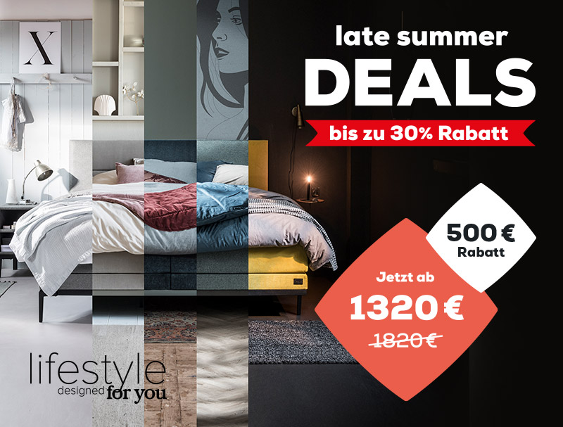Boxspringbetten Lifestyle - Late Summer Deals | Swiss Sense