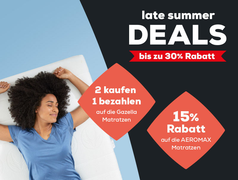 Matratzen kollektion - Late Summer Deals | Swiss Sense
