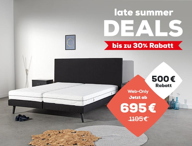 Boxspringbetten Web-Only Kollektion - Late Summer Deals | Swiss Sense